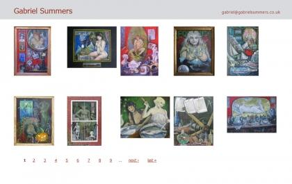 Gabriel Summers Paintings Gallery