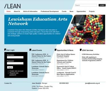 Lewisham Education Arts Network