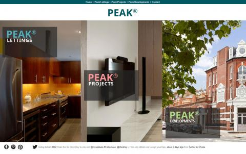 Peak Property Website Design