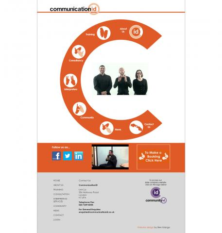 Communication ID Website Design