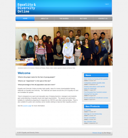 Equality and Diversity Online Website