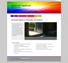Advanced Spectrum Website Design