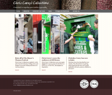 Christine Carey's Collections Website
