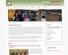 Emmaus Greenwich Website