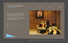 Website Design for Marchini Architecture