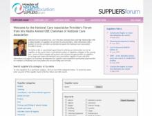 National Care Association Suppliers