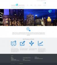 Saira Easton Website Design