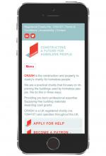 CRASH Website Mobile Optimisation