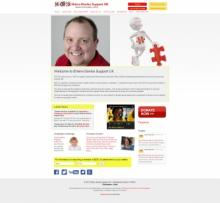 Ehlers Danlos UK Website Design