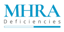 MHRA Deficiencies Logo