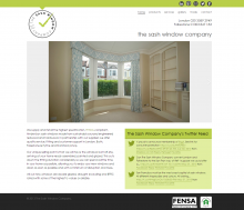 My Sash Window Website Design