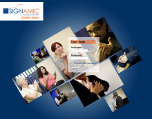 Signamic student and courses website